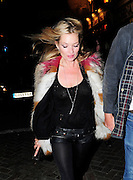 22.SEPTEMBER.2010. LONDON<br /> <br /> KATE MOSS ARRIVING AT PENTHOUSE NIGHT CLUB IN LEICESTER SQUARE TO ATTEND A PARTY FOR W HOTEL JAMES SMALL.<br /> <br /> BYLINE: EDBIMAGEARCHIVE.COM<br /> <br /> *THIS IMAGE IS STRICTLY FOR UK NEWSPAPERS AND MAGAZINES ONLY*<br /> *FOR WORLD WIDE SALES AND WEB USE PLEASE CONTACT EDBIMAGEARCHIVE - 0208 954 5968*