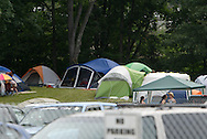 Camping starts long before the performers begin at the 31st annual Country Concert in Fort Loramie, Ohio, Thursday, July 7, 2011.