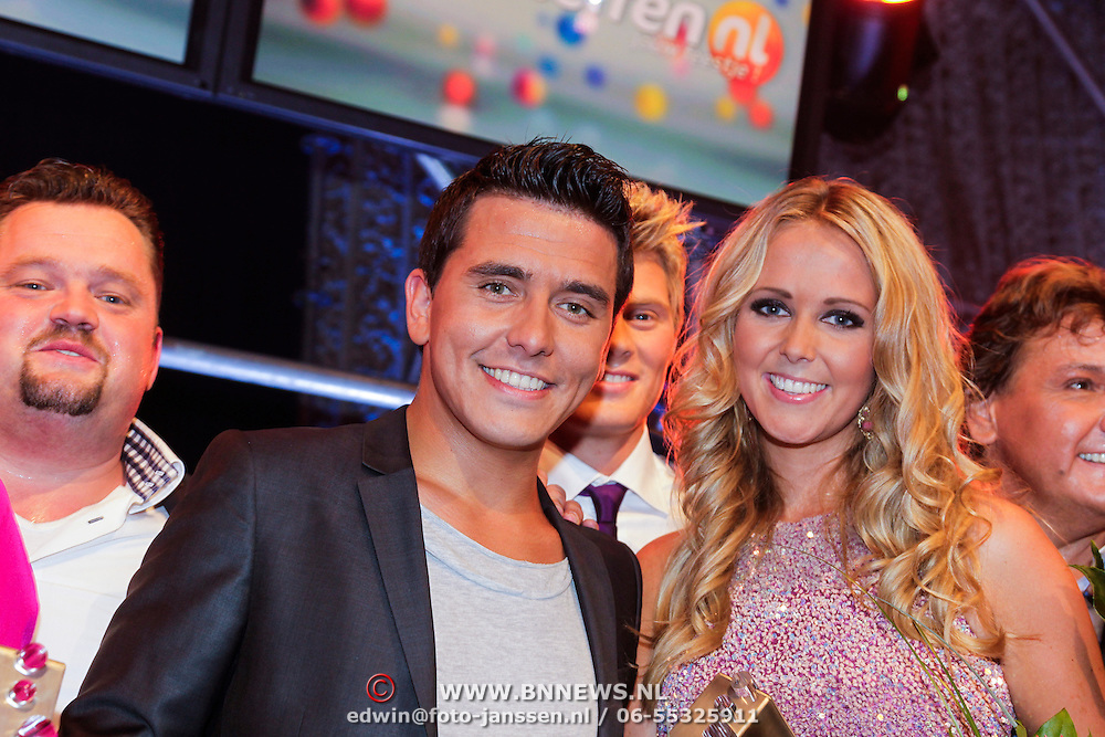 NLD/Den Bosch/20120920- Uitreiking Buma NL Awards 2012, Jan Smit en zus Monique Smit