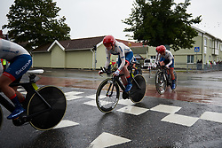 Ann-Sophie Duyck (BEL) at Postnord Vårgårda West Sweden Team Time Trial 2018, a 42.5 km team time trial in Vårgårda, Sweden on August 11, 2018. Photo by Sean Robinson/velofocus.com