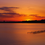 """Sunrise on Grand Traverse Bay""<br />