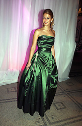 LADY GABRIELLA WINDSOR at the British Fashion Awards 2006 sponsored by Swarovski held at the V&A Museum, Cromwell Road, London SW7 on 2nd November 2006.<br />