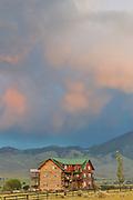 Sunset, Syringa Lodge Bed and Breakfast, Syringa Lodge, Bed and Breakfast, Salmon,  Idaho