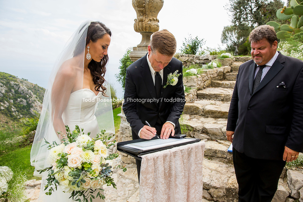 9/16/15 8:01:07 AM -- Eze, Cote Azure, France<br /> <br /> The Wedding of Ruby Carr and Ken Fitzgerald in Eze France at the Chateau de la Chevre d'Or. <br /> . &copy; Todd Rosenberg Photography 2015