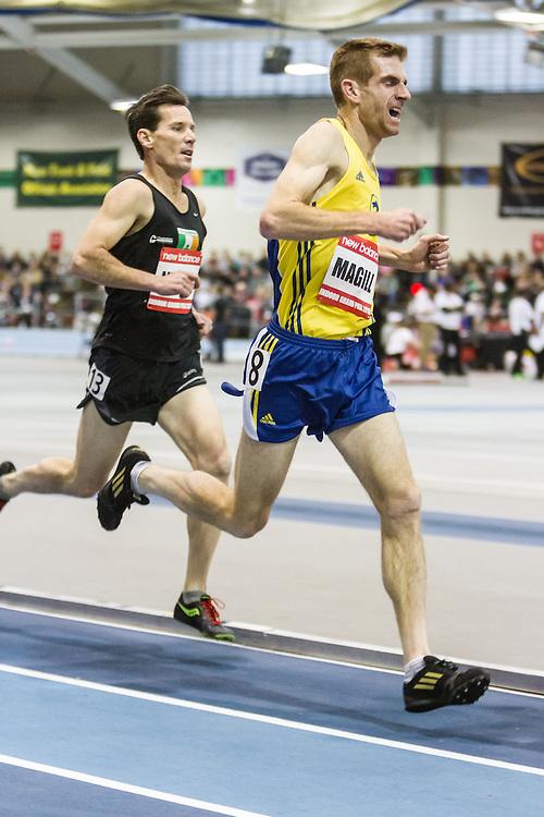 New Balance Indoor Grand Prix Track & FIeld:  Men's Master Mile, Chris Magill, BAA