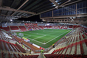 A general view of the AESSEAL New York Stadium before the EFL Sky Bet Championship match between Rotherham United and Brighton and Hove Albion at the AESSEAL New York Stadium, Rotherham, England on 7 March 2017.