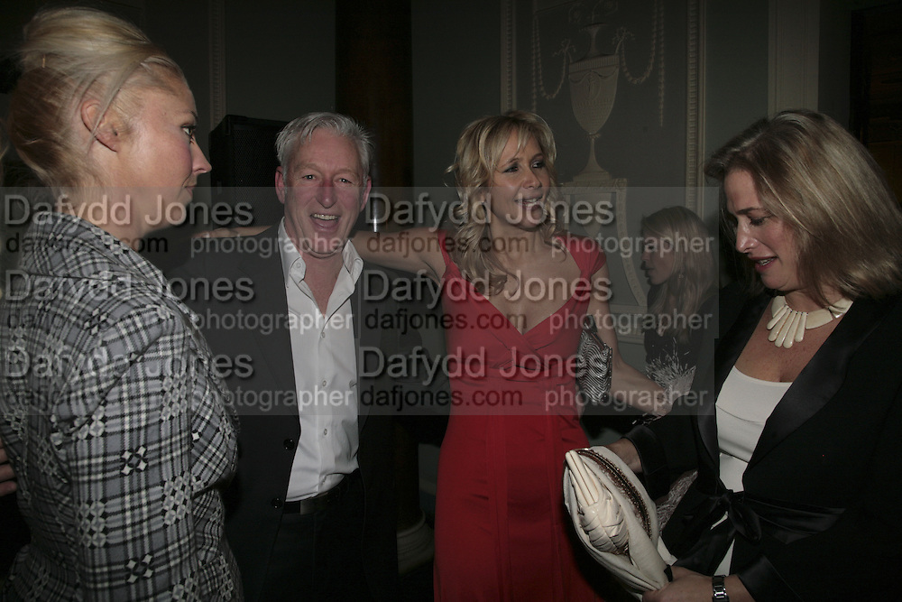 Tamara Beckwith, David Slade, Tamara Bryer and Lesley King-Lewis..  Westfield Launch and BFC celebrate Fashion Forward. Home House, Portman Sq. London. 30 January 2007.  -DO NOT ARCHIVE-© Copyright Photograph by Dafydd Jones. 248 Clapham Rd. London SW9 0PZ. Tel 0207 820 0771. www.dafjones.com.