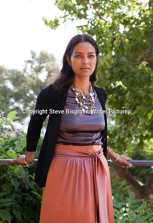 Jhumpa Lahiri at &quot;Le Conversazioni&quot; Capri, Italy<br /> 30th June 2013<br /> <br /> Photograph by Steve Bisgrove/Writer Pictures<br /> <br /> WORLD RIGHTS