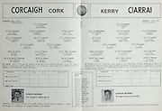 Munster Football Final.Cork v Kerry.Fitzgerald Stadium, Killarney.14.07.1974.14th July 1974