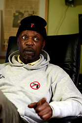 UK ENGLAND LONDON 20FEB07 - Charles Bailey, founder of the campaign 'Don't Shoot' addressing the issue of gun crime amongst youths during an interview at his studio in Streatham, south London...jre/Photo by Jiri Rezac..© Jiri Rezac 2007..Contact: +44 (0) 7050 110 417.Mobile:  +44 (0) 7801 337 683.Office:  +44 (0) 20 8968 9635..Email:   jiri@jirirezac.com.Web:    www.jirirezac.com..© All images Jiri Rezac 2007 - All rights reserved.