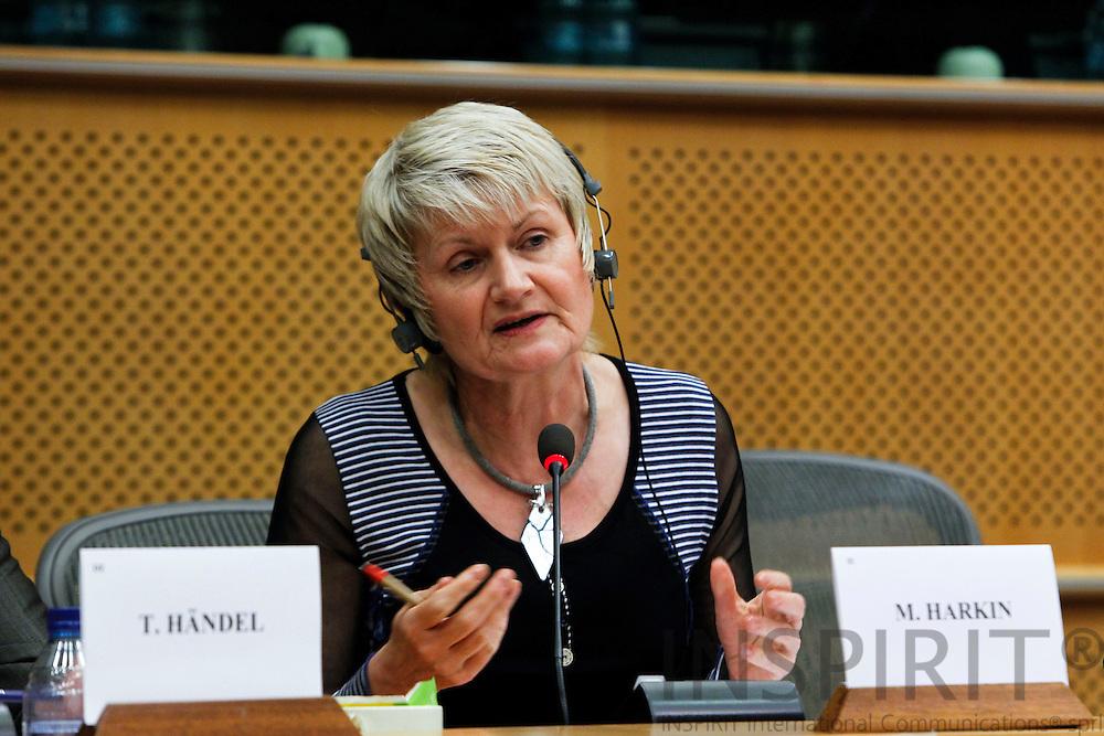 "BRUSSELS - BELGIUM - 03 MARCH 2010 --  MEP Marian Harkin, (ALDE), at the Joint Seminar Eurofound - European Parliament ""Company strategies in Europe: Flexibility and social dialogue"" PHOTO: ERIK LUNTANG / INSPIRIT"