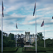 Gleneagles Hotel,.venue for the G8 summit,.soon to be the home for a few days for the 8 leaders and their 100s of assistants and security guards.