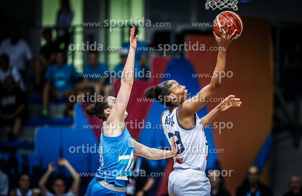 Olbis Futo Andre of Italy during basketball match between Women National teams of Italy and Slovenia in Group phase of Women's Eurobasket 2019, on June 30, 2019 in Sports Center Cair, Nis, Serbia. Photo by Vid Ponikvar / Sportida