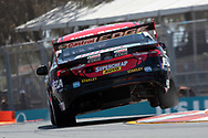 Chaz Mostert in the Supercheap Auto Racing Ford Falcon during Friday practice at The 2018 Vodafone Supercar Gold Coast 600 in Queensland.