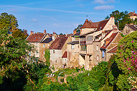 France, Indre (36), le Berry, vallée de la Creuse, Gargilesse-Dampierre, labellisé Les Plus Beaux Villages de France // France, Indre (36), Creuse valley, Gargilesse-Dampierre, The most beautiful villages of France