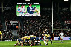 October 8, 2017 - Toulouse, France - Melee Toulouse vs Clermont (Credit Image: © Panoramic via ZUMA Press)