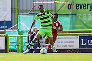 Forest Green Rovers Ethan Pinnock during the Pre-Season Friendly match between Forest Green Rovers and Birmingham City at the New Lawn, Forest Green, United Kingdom on 16 July 2016. Photo by Shane Healey.
