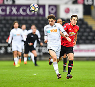 Daniel James of Swansea City in action - Mandatory by-line: Craig Thomas/Replay images - 18/03/2018 - FOOTBALL - Liberty Stadium - Swansea, England - Swansea City U23 v Manchester United U23 - Premier League 2 - Divison 1