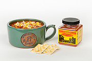 Bowl of Chugwater Chili and 6.5 oz. jar, Chugwater Chili Product