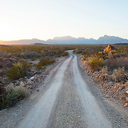 Glenn Springs Road, Big Bend National Park, Texas