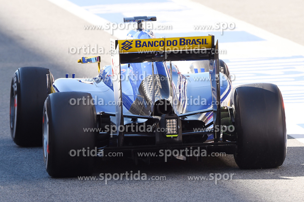 28.02.2015, Circuit de Catalunya, Barcelona, ESP, FIA, Formel 1, Testfahrten, Barcelona, Tag 3, im Bild Marcus Ericsson (SWE) Sauber C34 // during the Formula One Testdrives, day three at the Circuit de Catalunya in Barcelona, Spain on 2015/02/28. EXPA Pictures &copy; 2015, PhotoCredit: EXPA/ Sutton Images/ Mark Images<br /> <br /> *****ATTENTION - for AUT, SLO, CRO, SRB, BIH, MAZ only*****