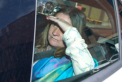 © Licensed to London News Pictures. 03/07/2017. Leeds UK. Alison Rough mother of Katie Rough leaves Leeds Crown Court this afternoon. The teenager accused of murdering Katie Rough goes on Trial this morning at Leeds Crown Court. 7 year old Katie was found in a field near her home in York with severe lacerations to her neck & chest on January the 9th. Photo credit: Andrew McCaren/LNP
