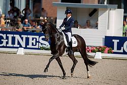 Scholtens Emmelie, NED, Indian Rock<br /> World ChampionshipsYoung Dressage Horses<br /> Ermelo 2018<br /> © Hippo Foto - Dirk Caremans<br /> 02/08/2018