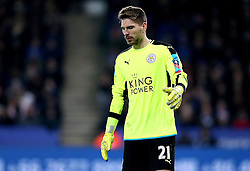 Ron-Robert Zieler of Leicester City - Mandatory by-line: Robbie Stephenson/JMP - 08/02/2017 - FOOTBALL - King Power Stadium - Leicester, England - Leicester City v Derby County - Emirates FA Cup fourth round replay