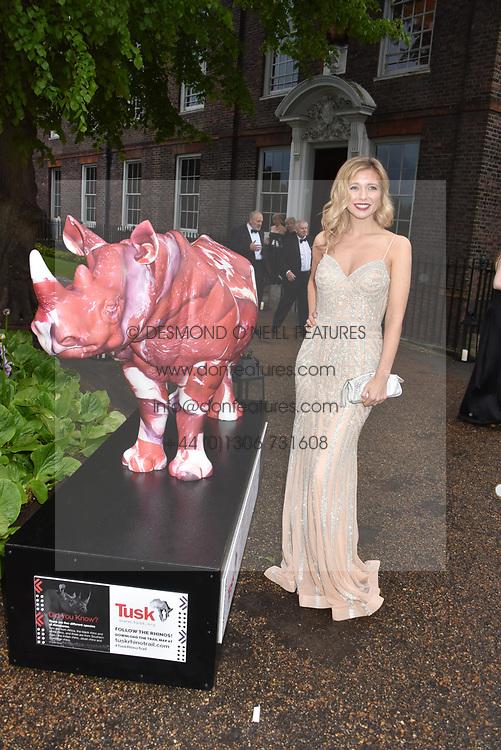 Rachel Riley at the Tusk Ball at Kensington Palace, London, England. 09 May 2019.