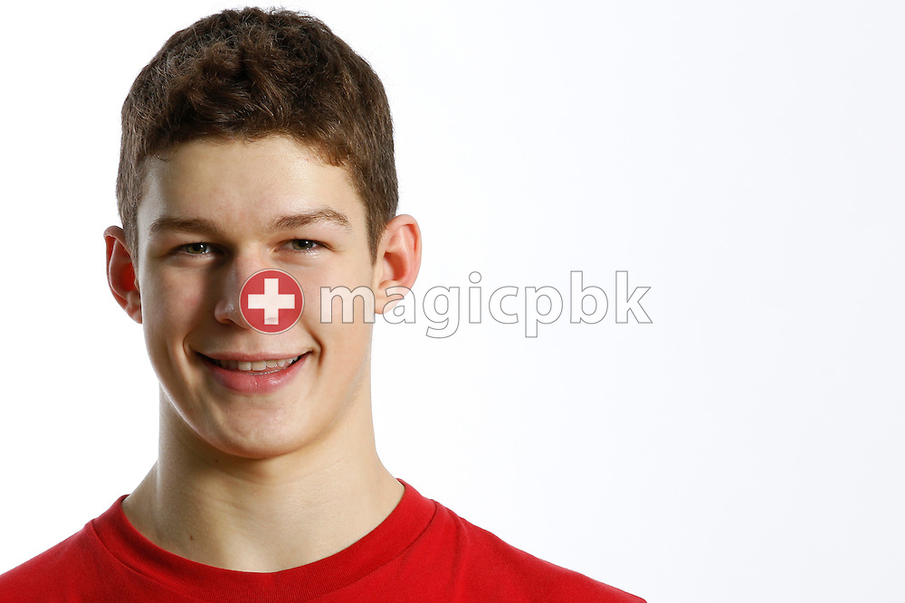 Swimmer Andrea BRUDER of Switzerland poses during a portrait session during the International Swim Meet Uster 2012 in Uster, Switzerland, Saturday, Jan. 28, 2012. (Photo by Patrick B. Kraemer / MAGICPBK)