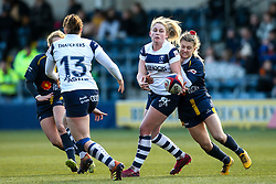 Lucie Skuse of Bristol Bears Women - Mandatory by-line: Robbie Stephenson/JMP - 01/12/2019 - RUGBY - Sixways Stadium - Worcester, England - Worcester Warriors Women v Bristol Bears Women - Tyrrells Premier 15s