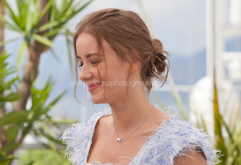 Actress, Irina Starshenbaum at the Leto (Summer) film photo call at the 71st Cannes Film Festival, Thursday 10th May 2018, Cannes, France. Photo credit: Doreen Kennedy