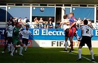 Photo: Daniel Hambury.<br />Luton Town v Crystal Palace. Coca Cola Championship. 09/09/2006.<br />Palace's James Scrowcroft (2nd right) scores. 2-1.