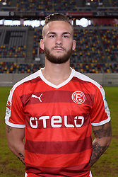 02.07.2015, Esprit Arena, Duesseldorf, GER, 2. FBL, Fortuna Duesseldorf, Fototermin, im Bild Fabian Holthaus ( Fortuna Duesseldorf / Portrait ) // during the official Team and Portrait Photoshoot of German 2nd Bundesliga Club Fortuna Duesseldorf at the Esprit Arena in Duesseldorf, Germany on 2015/07/02. EXPA Pictures &copy; 2015, PhotoCredit: EXPA/ Eibner-Pressefoto/ Thienel<br /> <br /> *****ATTENTION - OUT of GER*****
