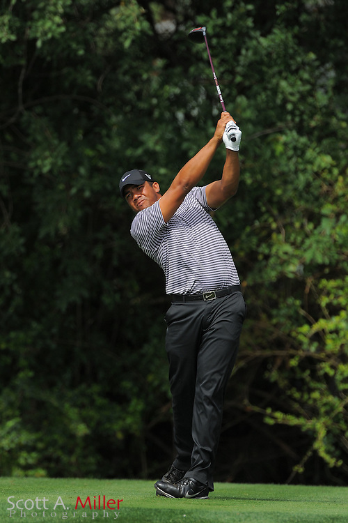 Jhonattan Vegas during the first round of the Honda Classic at PGA National on March 1, 2012 in Palm Beach Gardens, Fla. ..©2012 Scott A. Miller.