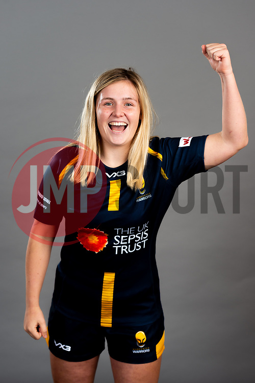 Alex Callender during the Worcester Warriors Women Media Day - Ryan Hiscott/JMP - 28/09/2019 - SPORT - Sixways Stadium - Worcester, England - Worcester Warriors Women Media Day
