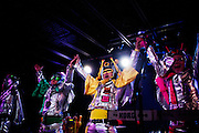 Japanese comic punk outfit Peelander-Z made their long awaited return to Saint Louis at The Firebird on March 7th, 2012, bringing with them garage punkers Electric Eel Attack. Local D&D wizards Dicegrinder started the magical evening. How do you like your steak? Medium rare!