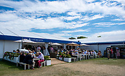 Henley on Thames, England, United Kingdom, 5th July 2019, Henley Royal Regatta  Crew Cafe,  [© Peter SPURRIER/Intersport Image]<br /> <br /> 13:50:36 1919 - 2019, Royal Henley Peace Regatta Centenary,