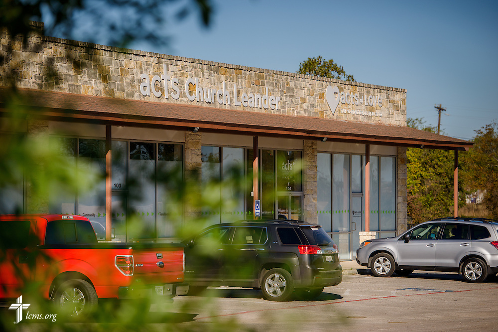 Exterior photograph of ACTS of Love Early Childhood Education Center on Wednesday, Nov. 16, 2016, in Leander, Texas. LCMS Communications/Erik M. Lunsford