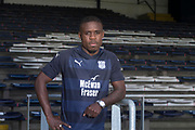 17/05/2017 - Dundee new boy Elton Ngwatala pictured at Dens Park, Dundee, Picture by David Young -