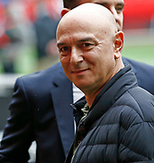 Tottenham Hotspur owner Daniel Levy ahead of an NFL International Series game between the Carolina Panthers and the Tampa Bay Buccaneers at Tottenham Hotspur Stadium, Sunday, Oct. 13, 2019, in London.  (Gareth Williams/Image of Sport)