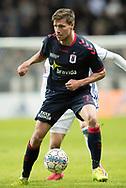 FODBOLD: Stephan Petersen (AGF) under kvartfinalen i DBU Pokalen mellem FC København og AGF den 7. april 2017 i Telia Parken, København. Foto: Claus Birch