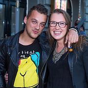 NLD/Amsterdam/20130903 - Inloop premiere Stiletto 2, Lola Brood en partner