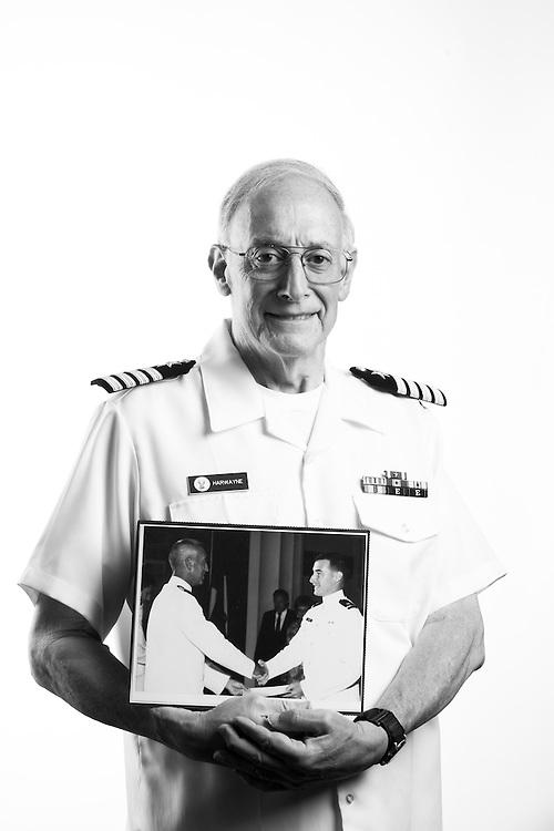 Thomas Harwayne<br /> Navy<br /> O-6<br /> Intelligence<br /> Feb. 25, 1969 - Aug. 31, 1973<br /> Sept. 1, 1969 - Jan. 31, 1995<br /> Vietnam<br /> <br /> <br /> Veterans Portrait Project<br /> San Diego, CA