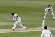 Mark Stoneman (Durham County Cricket Club) in action during the LV County Championship Div 1 match between Durham County Cricket Club and Somerset County Cricket Club at the Emirates Durham ICG Ground, Chester-le-Street, United Kingdom on 8 June 2015. Photo by George Ledger.