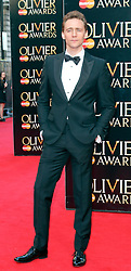 © Licensed to London News Pictures. 13/04/2014, UK. Tom Hiddleston, The Laurence Olivier Awards, Royal Opera House, London UK, 13 April 2014. Photo credit : Richard Goldschmidt/Piqtured/LNP