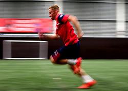 Joe Morrell sprints as Bristol City Under 23's return to training with fitness testing ahead of the 2017/18 season - Mandatory by-line: Robbie Stephenson/JMP - 30/06/2017 - FOOTBALL - SGS Wise Campus - Bristol, United Kingdom - Bristol City Under 23's Fitness Tests