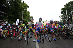 Start 3nd Stage (170,6 km) at 18th Tour de Slovenie 2011, on June 18, 2011, in Slovenia. (Photo by Urban Urbanc / Sportida)
