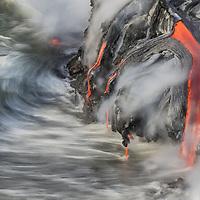 KILAUEA OCEAN FLOWS