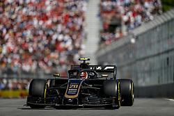 June 9, 2019 - Montreal, Canada - Motorsports: FIA Formula One World Championship 2019, Grand Prix of Canada, ..#20 Kevin Magnussen (DEN, Rich Energy Haas F1 Team) (Credit Image: © Hoch Zwei via ZUMA Wire)